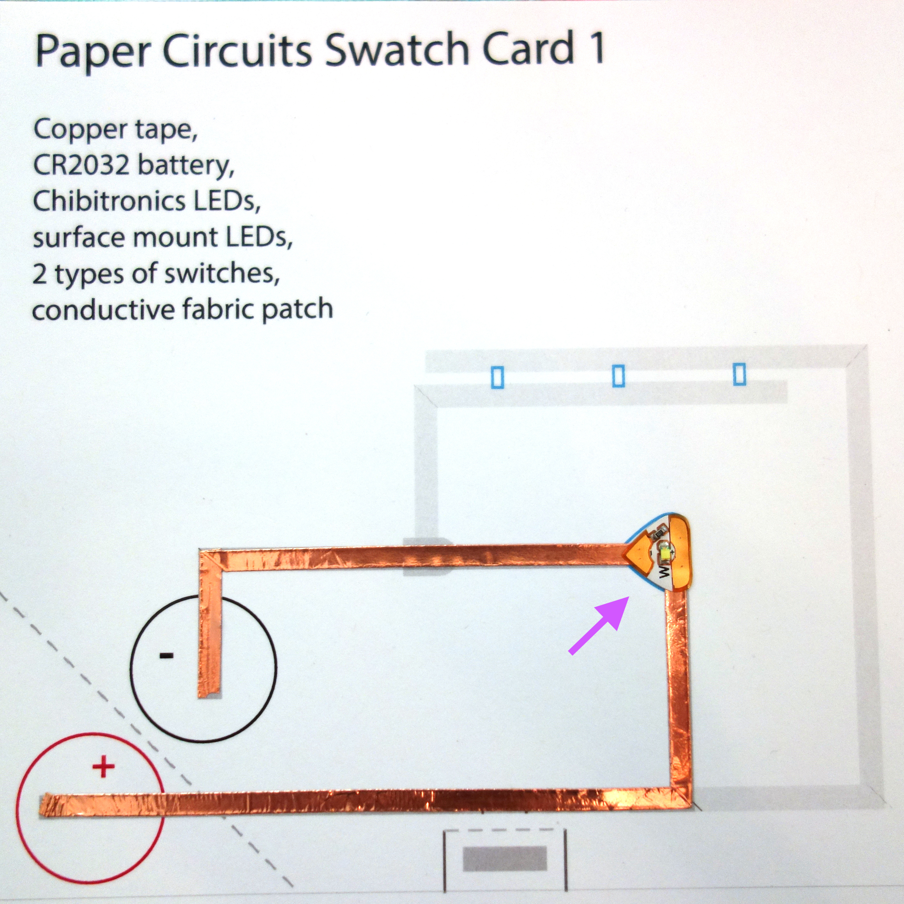 paper circuits intro template tunnel books squishy notions